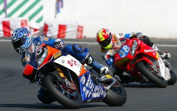 Course à moto
